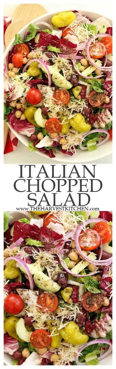 Healthy salad recipes: Italian Chopped Salad