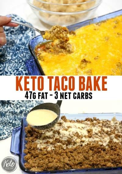 Keto Casserole Recipes: Keto Taco Bake