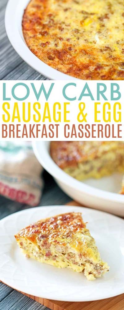 Keto Casserole Recipes: Low Carb Breakfast Casserole