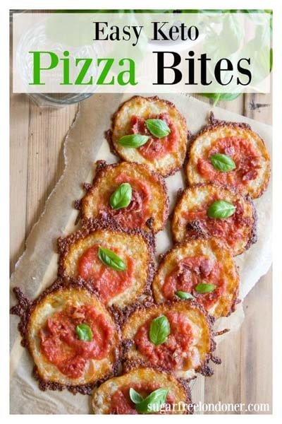 Keto snacks on the go: Low Carb Pizza Bites