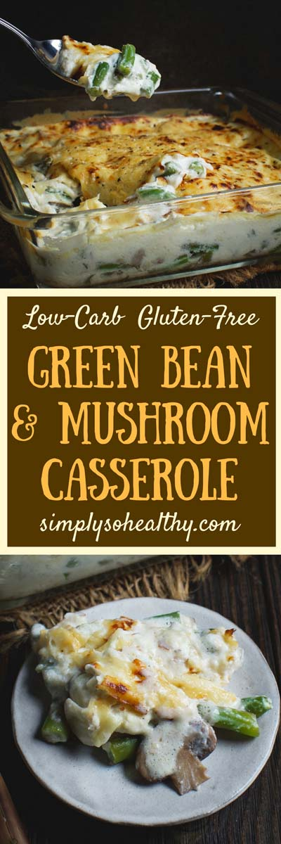 Keto Casserole Recipes: Low-carb Green Bean And Mushroom Casserole