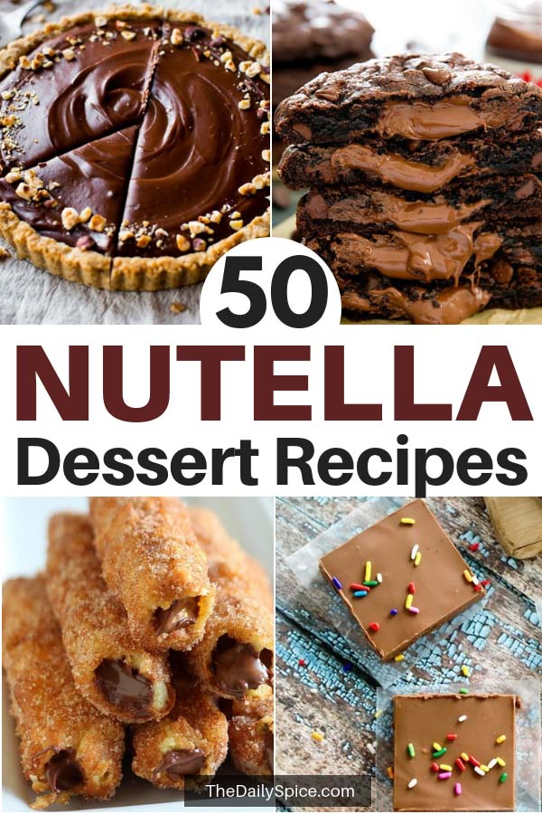 Nutella Dessert Recipes