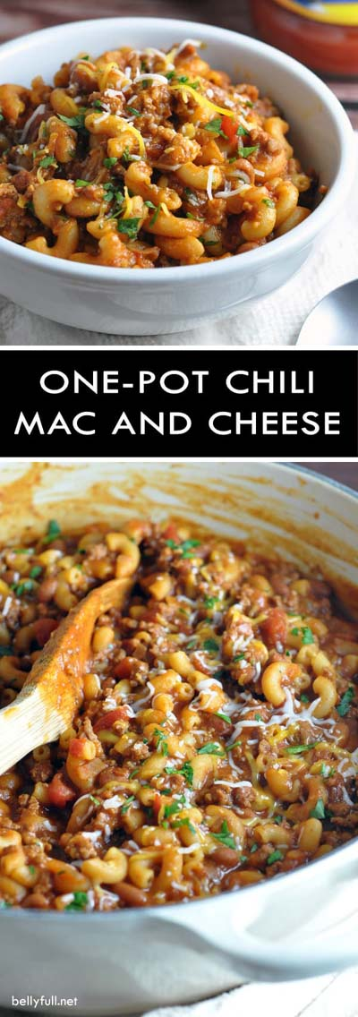 Chili Recipes: One-Pot Chili Mac & Cheese