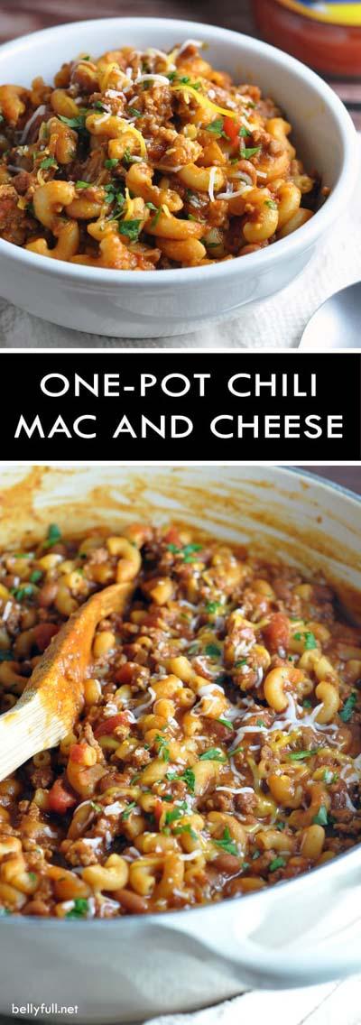 Chili Recipes: One-Pot Chili Mac & Cheese