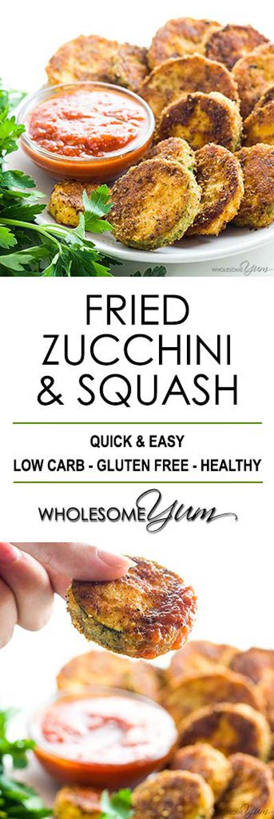 Keto snacks on the go: Pan Fried Squash And Zucchini Recipe