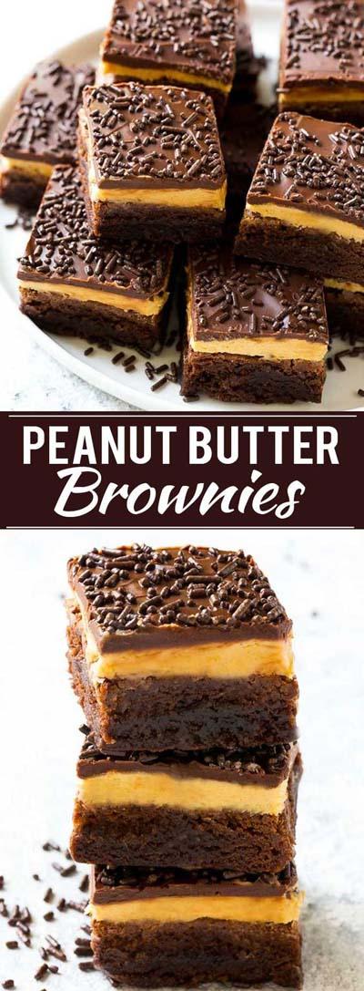 Peanut Butter Desserts: Peanut Butter Brownies