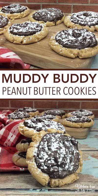 Peanut Butter Desserts: Peanut Butter Muddy Buddy Cookies