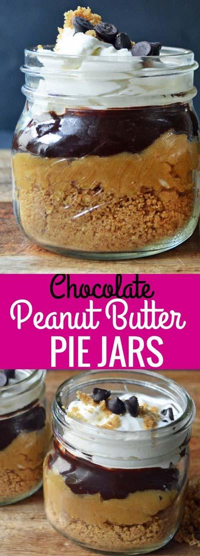 Peanut Butter Desserts: Peanut Butter Pie Jars