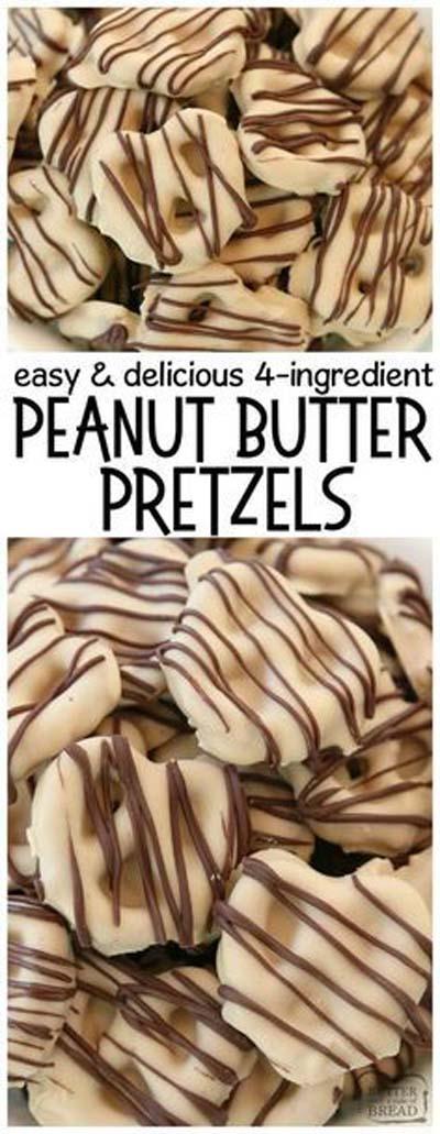Peanut Butter Desserts: Peanut Butter Pretzels
