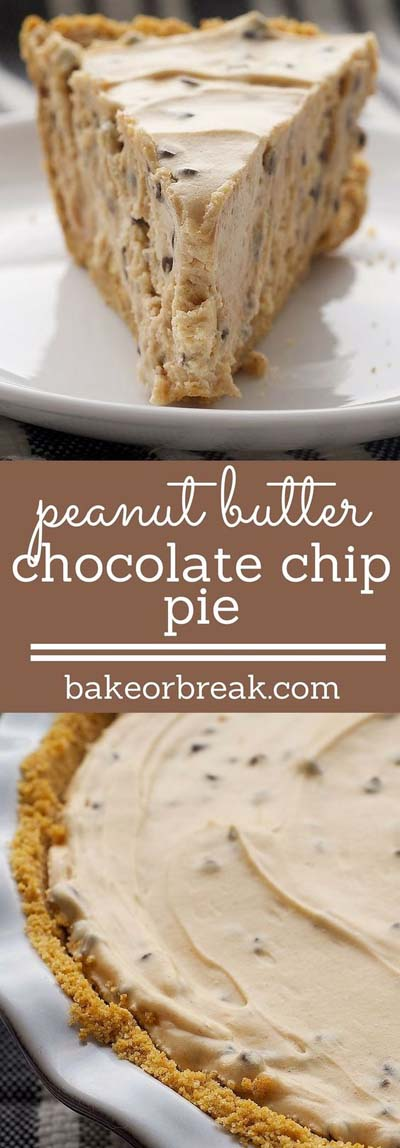 Peanut Butter Desserts: Peanut Butter-chocolate Chip Pie