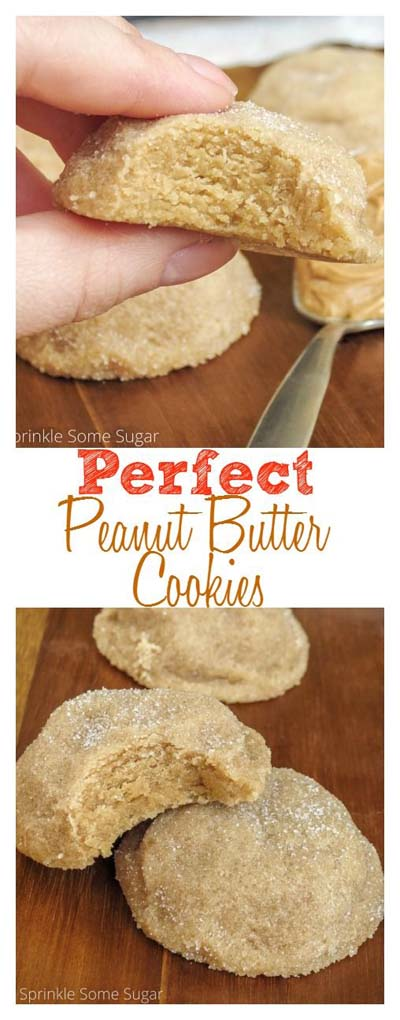 Peanut Butter Desserts: Perfect Peanut Butter Cookies