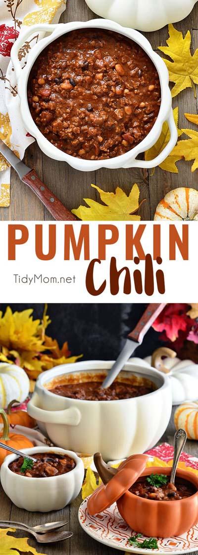 Chili Recipes: Pumpkin Chili