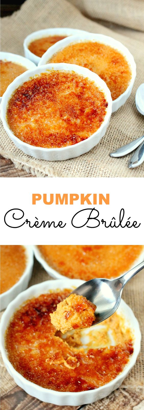 Pumpkin Spice Recipes: Pumpkin Creme Brulee