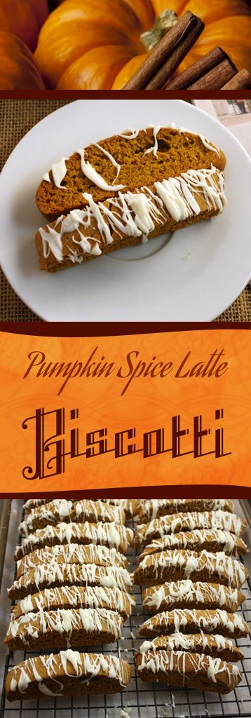 Pumpkin Spice Recipes: Pumpkin Spice Latte Biscotti