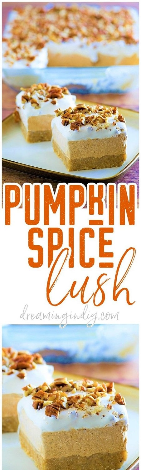 Thanksgiving Desserts: Pumpkin Spice Lush