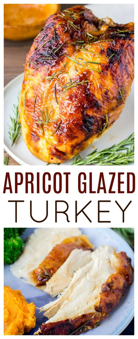 Thanksgiving turkey recipes: Rosemary Apricot Glazed Turkey