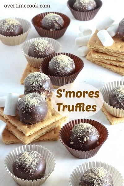 Truffle Dessert Recipes: S'mores Truffles