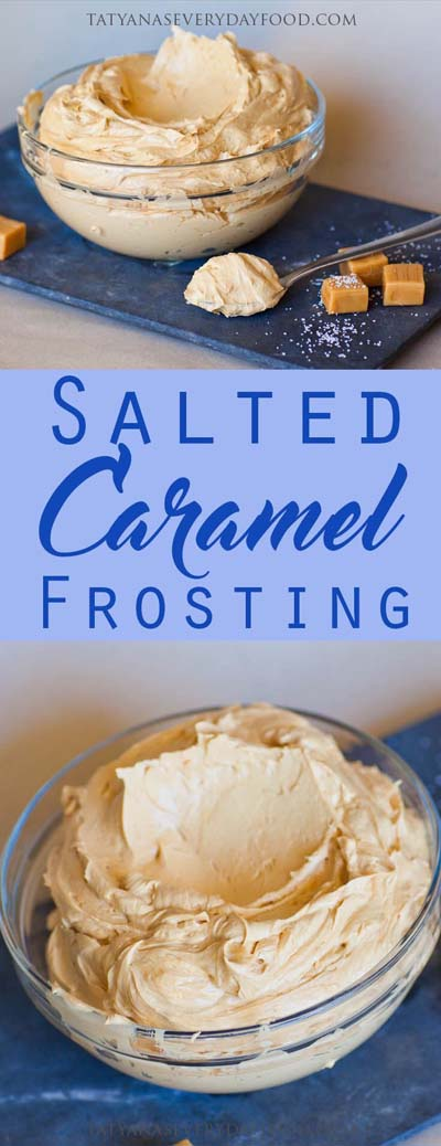 Easy caramel dessert recipes: Salted Caramel Frosting
