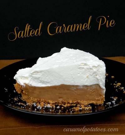 Easy caramel dessert recipes: Salted Caramel Pie