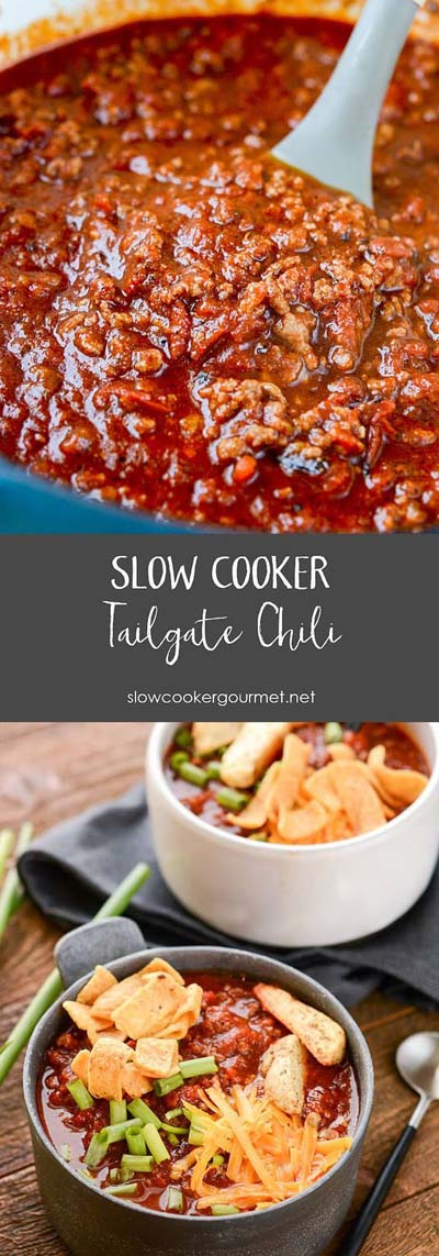 Chili Recipes: Slow Cooker Tailgate Chili