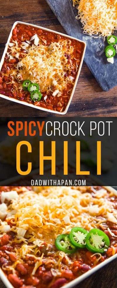 Chili Recipes: Spicy Crock Pot Chili