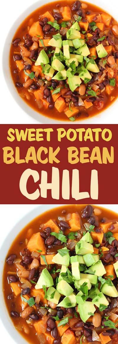 Chili Recipes: Sweet Potato Black Bean Chili
