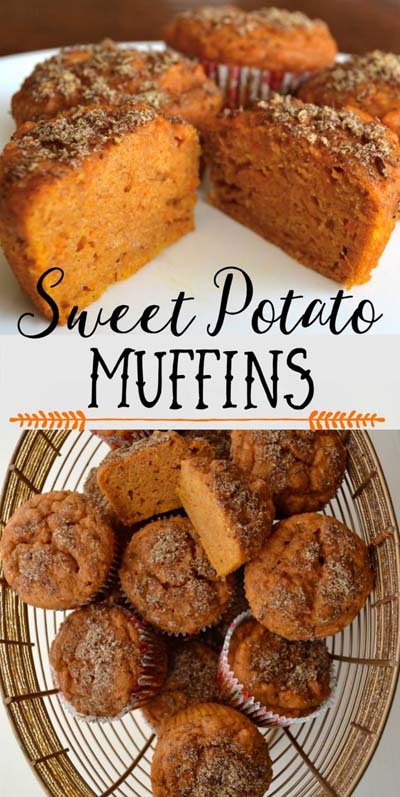 Christmas Dinner Recipes: Christmas Dinner Recipes: Sweet Potato Muffins