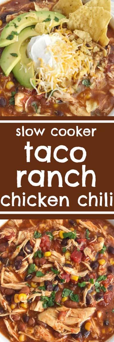 Chili Recipes: Taco Ranch Chicken Chili