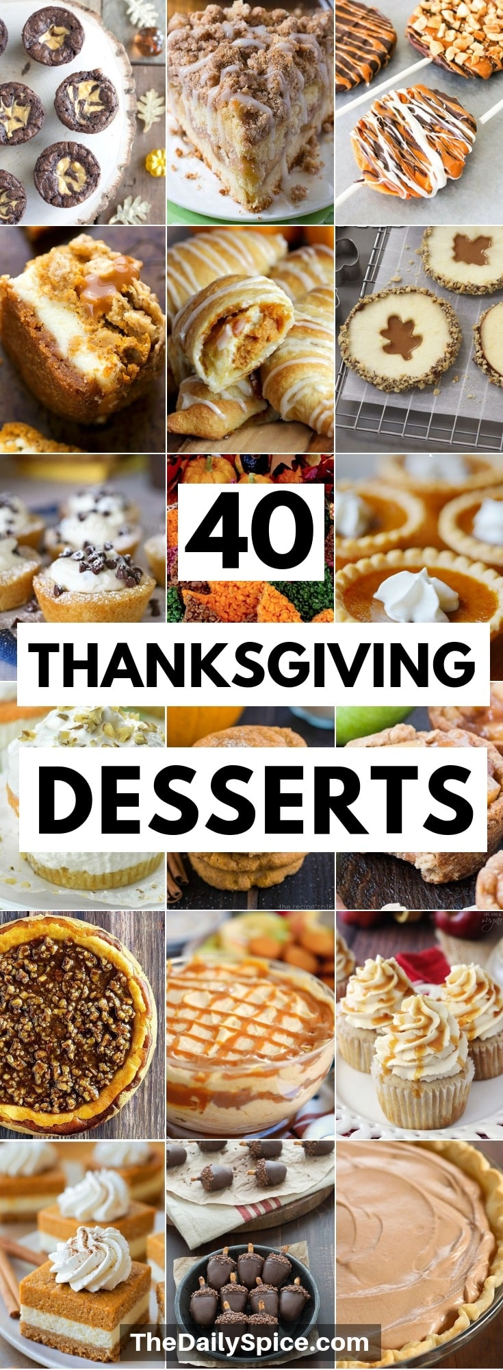 Thanksgiving Desserts Recipes