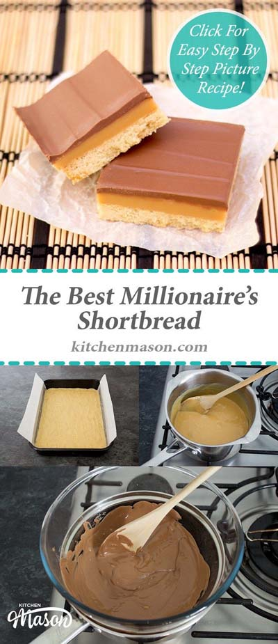 Easy caramel dessert recipes: The Best Millionaire's Shortbread-min