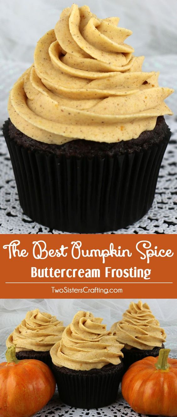 Pumpkin Spice Recipes: The Best Pumpkin Spice Buttercream Frosting