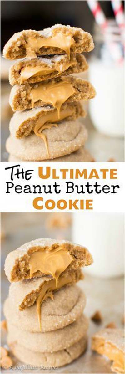 Peanut Butter Desserts: The Ultimate Peanut Butter Cookie