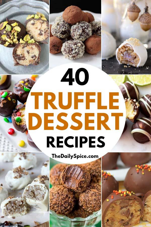 Truffle Dessert Recipes