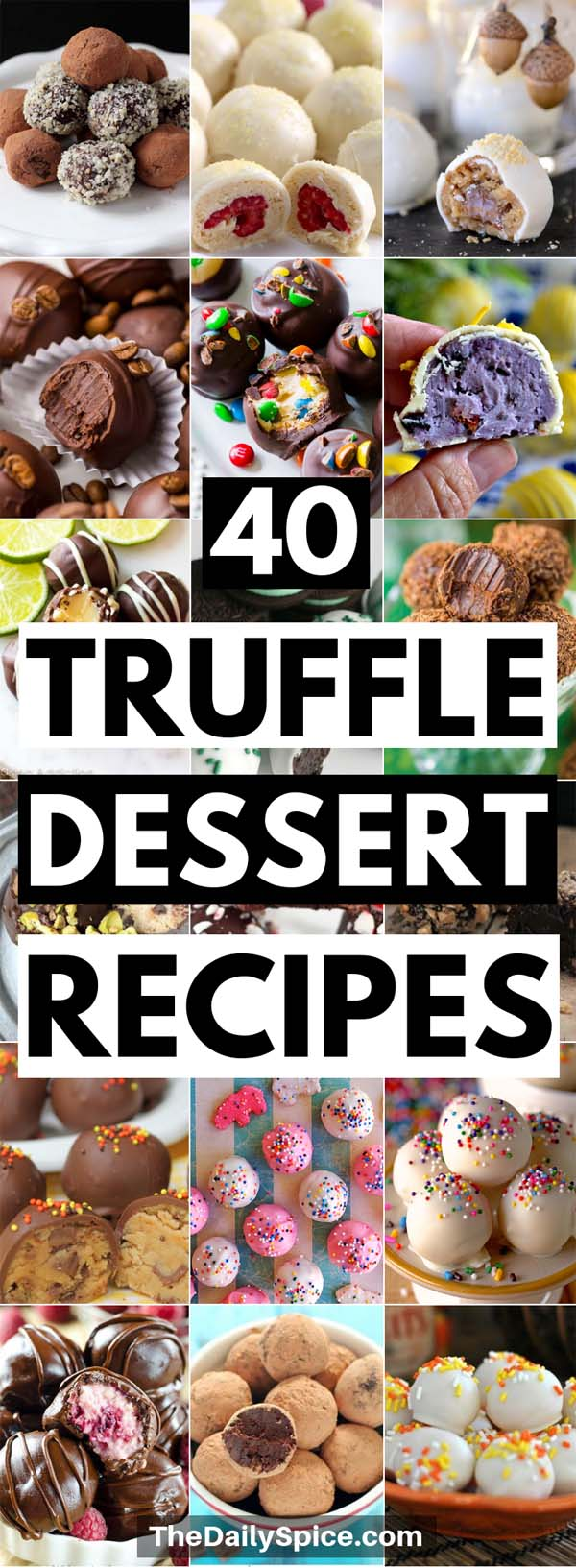 Truffle Dessert Recipes