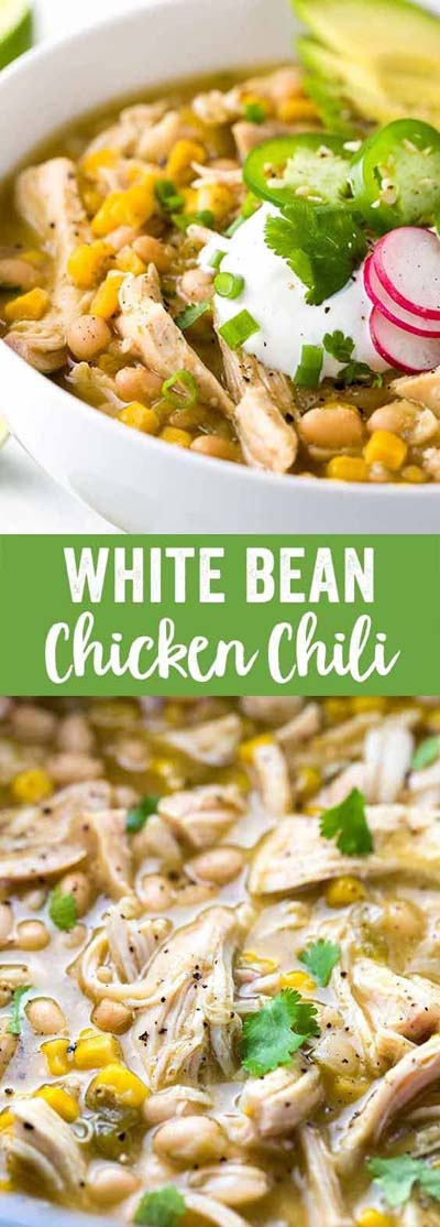 Chili Recipes: White Bean Chicken Chili