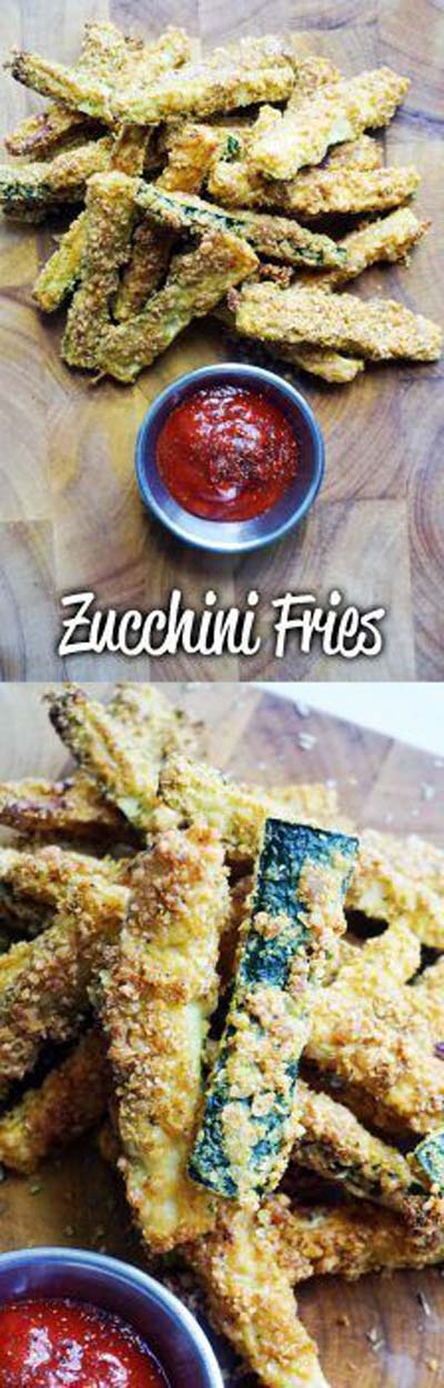 Keto snacks on the go: Zucchini Fries