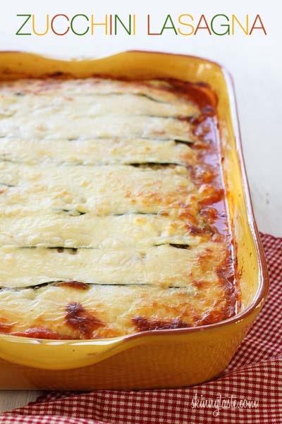 Keto Casserole Recipes: Zucchini Lasagna Recipe