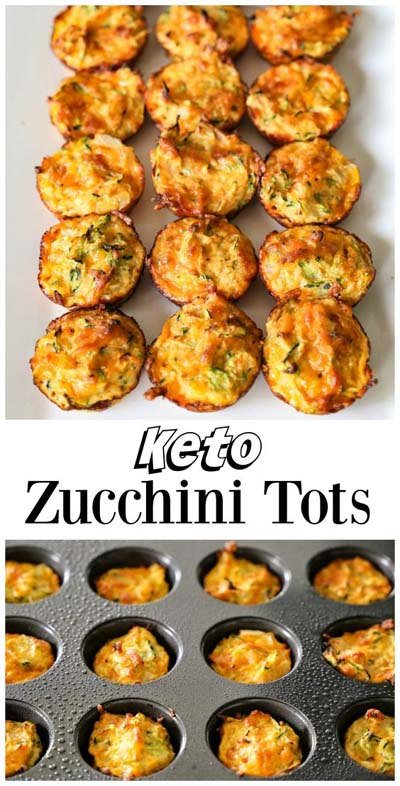 Keto snacks on the go: Zucchini Tots
