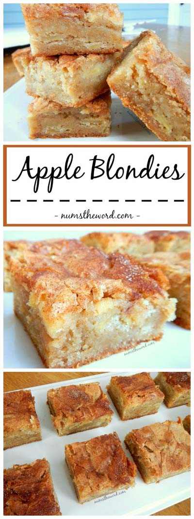 Apple dessert recipes: Apple Blondies