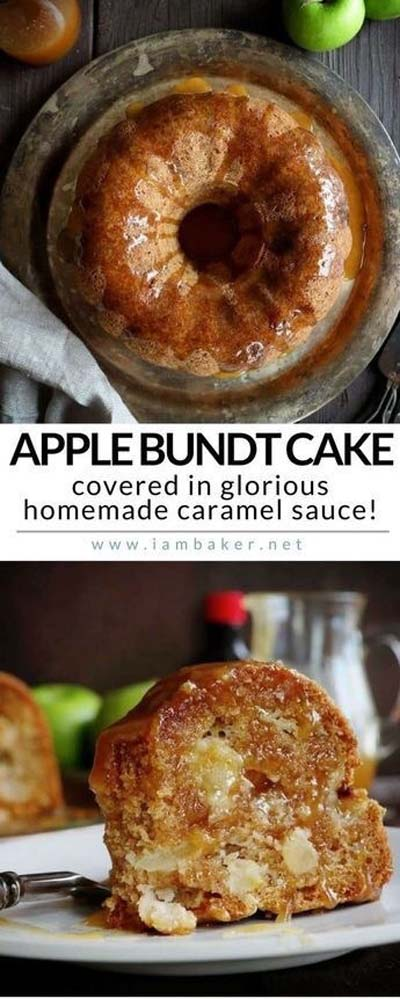 Apple dessert recipes: Apple Bundt Cake