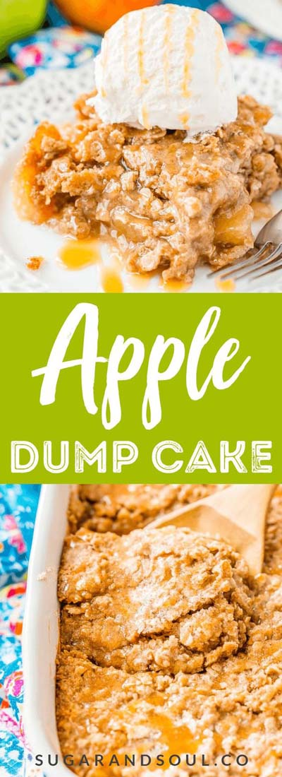 Apple dessert recipes: Apple Dump Cake