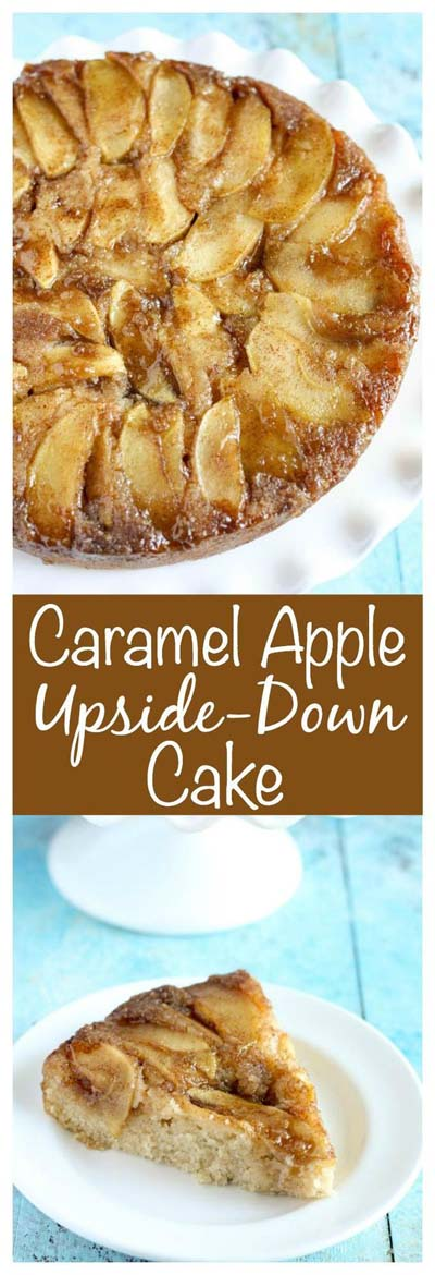 Apple dessert recipes: Caramel Apple Upside-down Cake