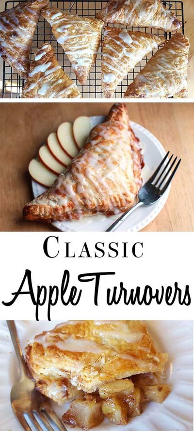 Apple dessert recipes: Classic Apple Turnovers
