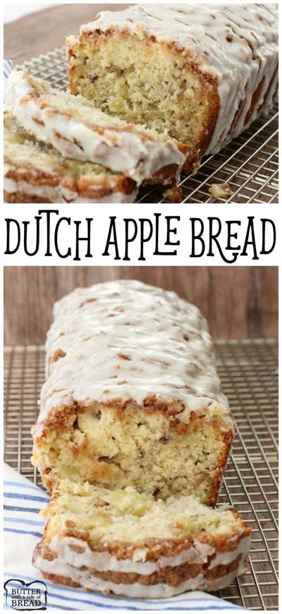 Apple dessert recipes: Dutch Apple Bread Recipe