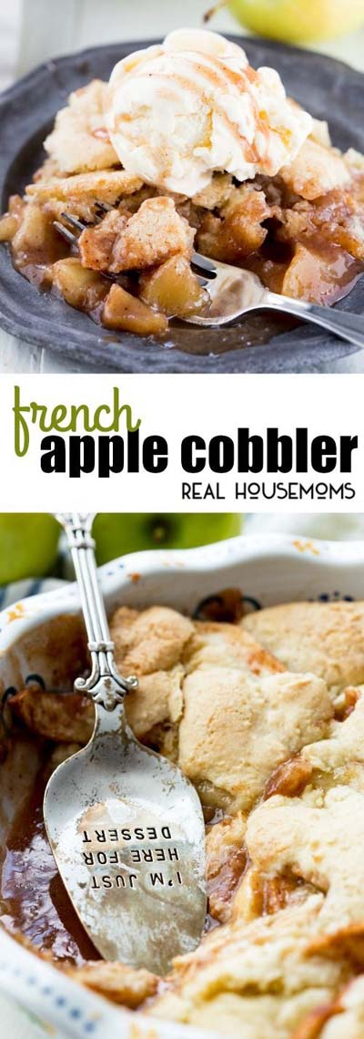 Apple dessert recipes: French Apple Cobbler