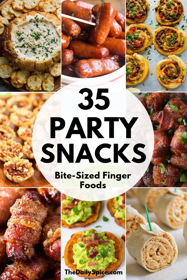 Party Finger foods - best party appetizers