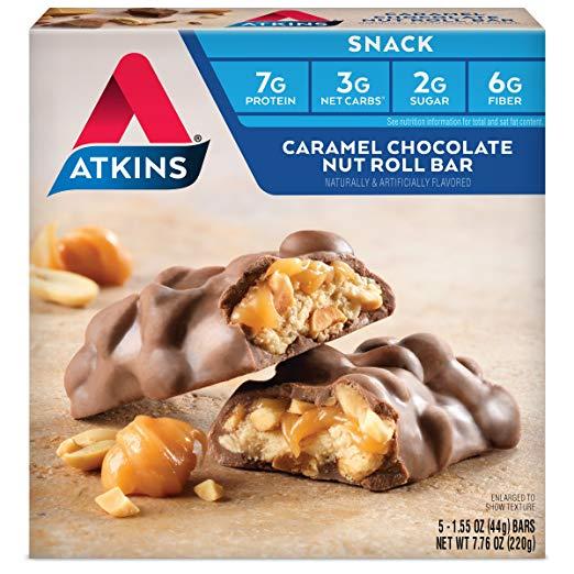 Keto Desserts You Can Buy: Atkins Snack Bar