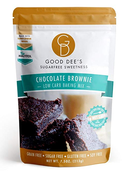 Keto Desserts You Can Buy: Chocolate Brownie Mix
