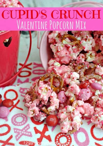 Valentines Day Treats: Cupid's Crunch Recipe