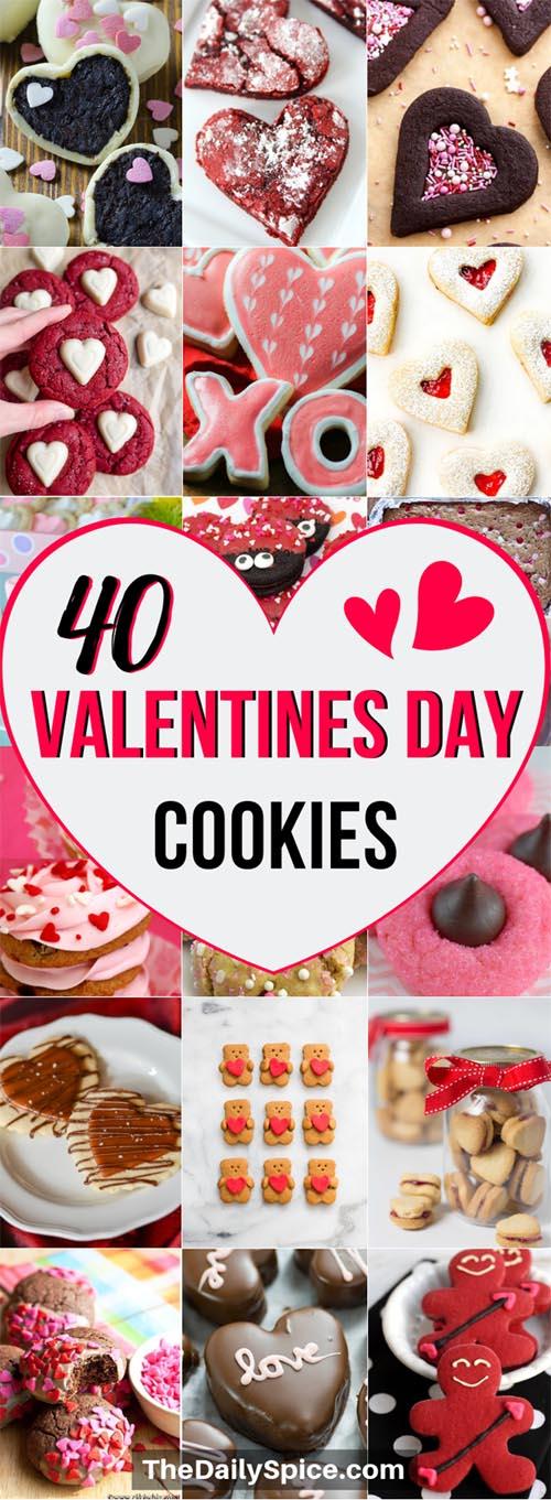 Easy Valentines Day Cookies